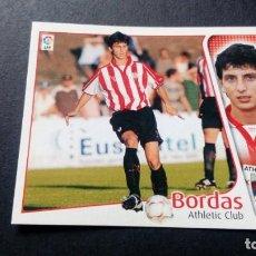 Cromos de Fútbol: BORDAS ATHLETIC DE BILBAO SIN PEGAR PANINI EDICIONES ESTE LIGA TEMPORADA 2004 2005 04 05. Lote 207043678