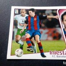 Cromos de Fútbol: INIESTA BARCELONA SIN PEGAR PANINI EDICIONES ESTE LIGA TEMPORADA 2004 2005 04 05. Lote 207043691