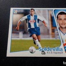 Cromos de Fútbol: SOLDEVILLA ESPANYOL ESPAÑOL SIN PEGAR PANINI EDICIONES ESTE LIGA TEMPORADA 2004 2005 04 05. Lote 207043747