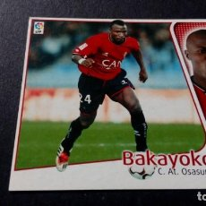 Cromos de Fútbol: BAKAYOKO OSASUNA SIN PEGAR PANINI EDICIONES ESTE LIGA TEMPORADA 2004 2005 04 05. Lote 207043813