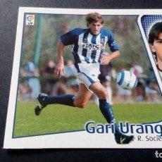 Cromos de Fútbol: GARI URANGA REAL SOCIEDAD SIN PEGAR PANINI EDICIONES ESTE LIGA TEMPORADA 2004 2005 04 05. Lote 207043820