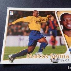 Cromos de Fútbol: MARCOS SENNA VILLARREAL SIN PEGAR PANINI EDICIONES ESTE LIGA TEMPORADA 2004 2005 04 05. Lote 207043856