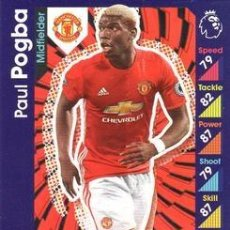 Cromos de Fútbol: 191-PAUL POGBA-MANCHESTER UNITED-BASE CARD-TOPPS ENGLISH PREMIER LEAGUE 2016-2017 - MATCH ATTAX. Lote 207111916