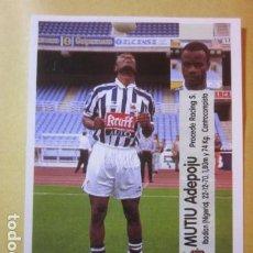 Cromos de Fútbol: MUTIU 109A SOCIEDAD LIGA 96 97 1996 1997 PANINI CROMO RECUPERADO MIRAR FOTOGRAFIAS. Lote 207113781
