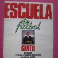 Cromos de Fútbol: ALBUM LIGA 1991-92 +.ESCUELA GENTO--COMPLETO. Lote 207113936