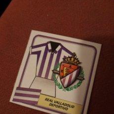 Cromos de Fútbol: VALLADOLID ESCUDO 89 90.1989 1990 ESTE. Lote 207141787