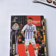 Cromos de Fútbol: 331 - CALERO - VALLADOLID - MGK - MEGACRACKS LIGA 2019 2020 19 20 - PANINI. Lote 207141933