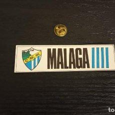 Cromos de Fútbol: -CROMO FUTBOL ADHESIVAS SPORT ALBUM 1 O 2 NO SE : MALAGA. Lote 207142371
