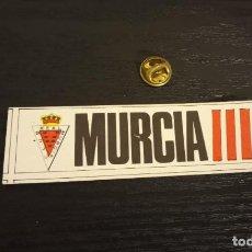 Cromos de Fútbol: -CROMO FUTBOL ADHESIVAS SPORT ALBUM 1 O 2 NO SE : MURCIA. Lote 207142418