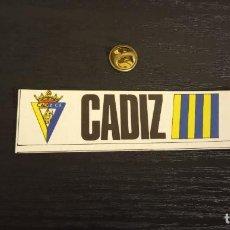 Cromos de Fútbol: -CROMO FUTBOL ADHESIVAS SPORT ALBUM 1 O 2 NO SE : CADIZ. Lote 207142426