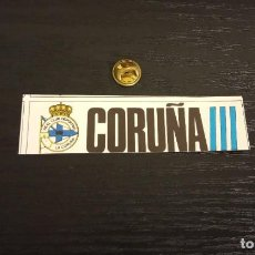 Cromos de Fútbol: -CROMO FUTBOL ADHESIVAS SPORT ALBUM 1 O 2 NO SE : CORUÑA. Lote 207142476
