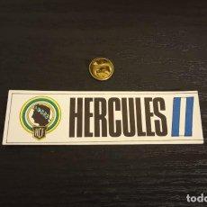 Cromos de Fútbol: -CROMO FUTBOL ADHESIVAS SPORT ALBUM 1 O 2 NO SE : HERCULES. Lote 207142503