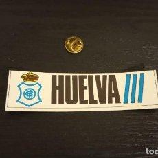 Cromos de Fútbol: -CROMO FUTBOL ADHESIVAS SPORT ALBUM 1 O 2 NO SE : RECREATIVO HUELVA. Lote 207142630