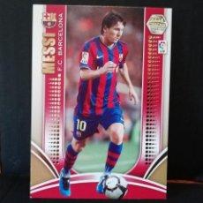 Cromos de Fútbol: MESSI N°69 SERIE ORO MEGACRACKS 2009/10. Lote 207142647