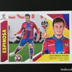 Cromos de Fútbol: #441 10 ESPINOSA LEVANTE 2017 2018 17 18 LIGA EDICIONES ESTE NUEVO SIN PEGAR. Lote 207142677