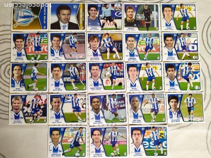 Cromos de Fútbol: Liga Este 2005 2006 / 05 06 - 469 cromos sin repetir nunca pegados (sin pegar) Coloca, fichaje, baja - Foto 2 - 207146946