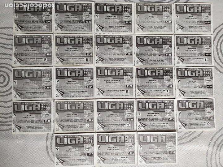 Cromos de Fútbol: Liga Este 2005 2006 / 05 06 - 469 cromos sin repetir nunca pegados (sin pegar) Coloca, fichaje, baja - Foto 3 - 207146946