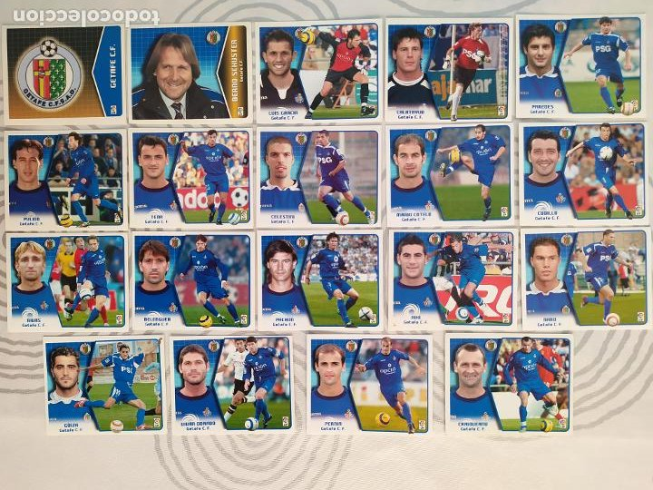 Cromos de Fútbol: Liga Este 2005 2006 / 05 06 - 469 cromos sin repetir nunca pegados (sin pegar) Coloca, fichaje, baja - Foto 20 - 207146946