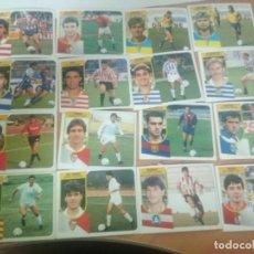 Cromos de Fútbol: ESTE91/92 LOTE DE CROMOS INTERESANTES NUNCA PEGADOS. Lote 207238021