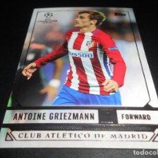 Cromos de Fútbol: 39 ANTOINE GRIEZMANN AT MADRID CARDS TOPPS SHOWCASE UEFA CHAMPIONS LEAGUE 16 17 2016 2017. Lote 207239145