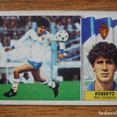 Cromos de Fútbol: CROMO ALBUM LIGA ESTE 86 87 ROBERTO (ZARAGOZA) COLOCA - NUNCA PEGADO - FUTBOL 1986 1987. Lote 207288370