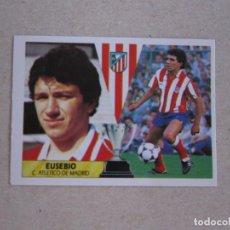 Cromos de Fútbol: ESTE 87 88 EUSEBIO ATLETICO MADRID 1987 1988 NUEVO. Lote 207288376