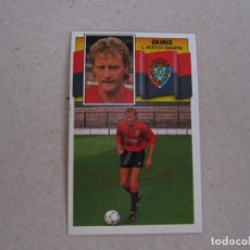 Cromos de Fútbol: ESTE 90-91 COLOCA GRIMES OSASUNA 1990-1991 NUEVO. Lote 207288533