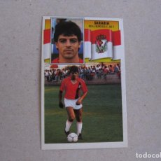 Cromos de Fútbol: ESTE 90-91 SARABIA BURGOS 1990-1991 NUEVO. Lote 207288633