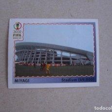 Cromos de Futebol: PANINI 2002 FIFA WORLD CUP KOREA JAPAN Nº 18 MIYAGI ESTADIO MUNDIAL COREA JAPON 02 NUNCA PEGADO. Lote 207292438