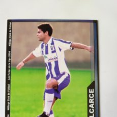 Cromos de Fútbol: MUNDICROMO LAS FICHAS DE LA LIGA 2004 VALCARCE N° 340 MALAGA. Lote 207306567