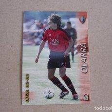 Cromos de Fútbol: PANINI MEGAFICHAS 2002 2003 Nº 206 OLARRA OSASUNA MEGACRACKS 02 03. Lote 207343786