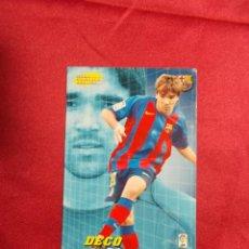 Cromos de Fútbol: MEGACRACKS 2004 2005 PANINI..DECO. Nº 497 .F.C BARCELONA. Lote 207343797