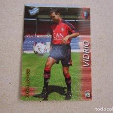 Cromos de Fútbol: PANINI MEGAFICHAS 2002 2003 Nº 206 BIS VIDRIO OSASUNA MEGACRACKS 02 03. Lote 207343817