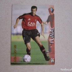 Cromos de Fútbol: PANINI MEGAFICHAS 2002 2003 Nº 208 PUÑAL OSASUNA MEGACRACKS 02 03. Lote 207343861