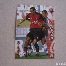 Cromos de Fútbol: PANINI MEGAFICHAS 2002 2003 Nº 209 RIVERO OSASUNA MEGACRACKS 02 03. Lote 207343872