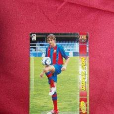 Cromos de Fútbol: MEGACRACKS 2004 2005 PANINI..EDMILSON. Nº 453 .F.C BARCELONA. Lote 207343873