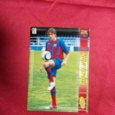 Cromos de Fútbol: MEGACRACKS 2004 2005 PANINI..EDMILSON. Nº 453 .F.C BARCELONA. Lote 207343920