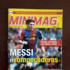 Cromos de Fútbol: MINIMAG PANINI 07/08 MESSI (BARCELONA). Lote 207621966