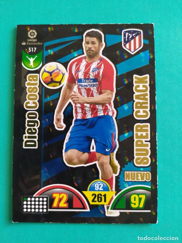 ADRENALYN XL 2017 2018 / 17 18 CROMO PANINI - DIEGO COSTA (ATLÉTICO DE MADRID) - NUEVO SÚPER CRACK (Coleccionismo Deportivo - Álbumes y Cromos de Deportes - Cromos de Fútbol)