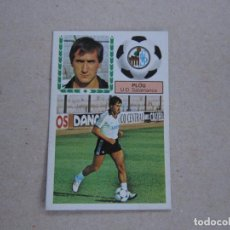 Cromos de Fútbol: ESTE 83 84 FICHAJE Nº 33 PLOU SALAMANCA 1983 1984 NUEVO. Lote 207891743