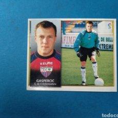 Cromos de Fútbol: GASPERCIC FICHAJE 34 EXTREMADURA EDICIONES ESTE 98/99. Lote 207964326