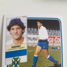 Cromos de Fútbol: EDICIONES ESTE FICHAJE 7 ANDRES NUEVO SIN PEGAR.89 90 1989 1990. Lote 208112450