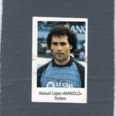 Cromos de Fútbol: MANOLO (C.D. TENERIFE) - Nº 194 - LIGA FÚTBOL 91-92 - BIMBO - NUNCA PEGADO.. Lote 208282861