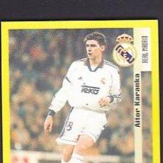 Cromos de Fútbol: PANINI LIGA 1999 2000 - COLOCA 26 A KARANZA REAL MADRID - 99 00 - NUNCA PEGADO. Lote 236562125