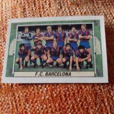Cartes à collectionner de Football: EDICIONES ESTE 84 85 ALINEACIÓN EQUIPO FC BARCELONA. Lote 208803810