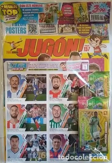 REVISTA JUGON N-157 A ESTRENAR PRECINTADA (Coleccionismo Deportivo - Álbumes y Cromos de Deportes - Cromos de Fútbol)