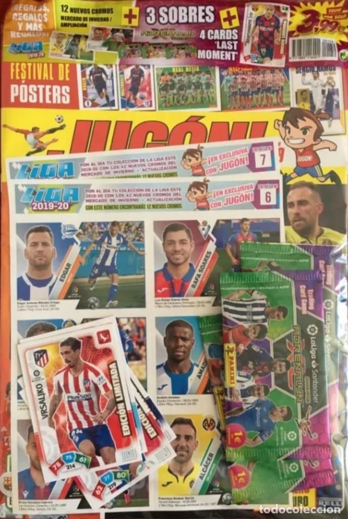 REVISTA JUGON N-159 A ESTRENAR PRECINTADA (Coleccionismo Deportivo - Álbumes y Cromos de Deportes - Cromos de Fútbol)