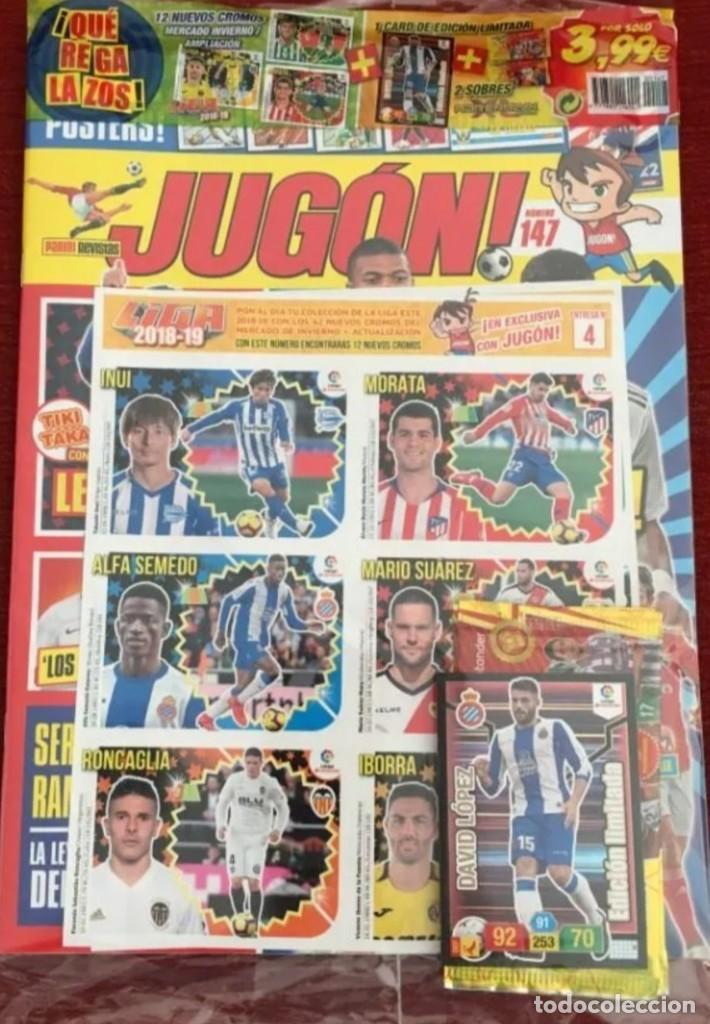 REVISTA JUGON N-147 A ESTRENAR PRECINTADA (Coleccionismo Deportivo - Álbumes y Cromos de Deportes - Cromos de Fútbol)
