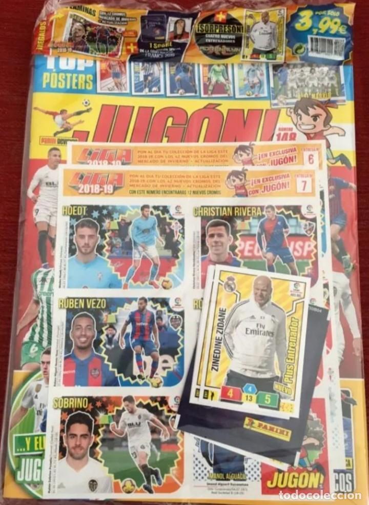 REVISTA JUGON N-148 A ESTRENAR PRECINTADA (Coleccionismo Deportivo - Álbumes y Cromos de Deportes - Cromos de Fútbol)