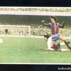 Figurine di Calcio: CROMO DE FUTBOL: JOHAN CRUYFF, ASI JUEGO AL FUTBOL: CROMO 64. BARCELONA - MALAGA. Lote 209179445
